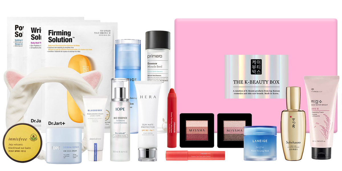 Monthly Subscription Box The K Beauty Box