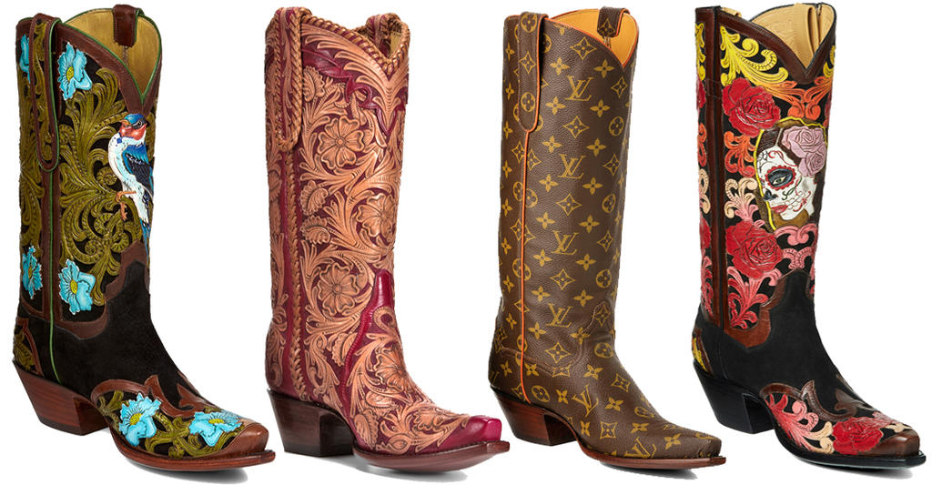 Custom handmade cowboy boots made in the USA – Back at the Ranch